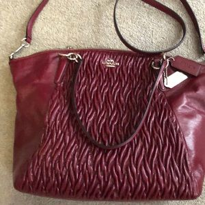 Coach Tote Bag With Twisted Leather